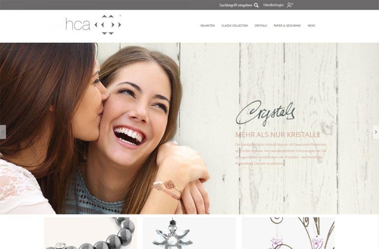 HCA B2B-Shop