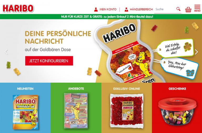 HARIBO Online-Shop