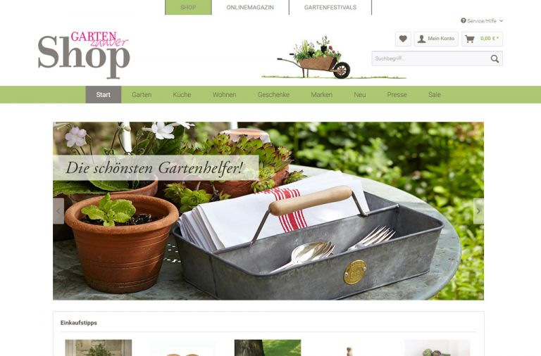 shopgartenzauber.com