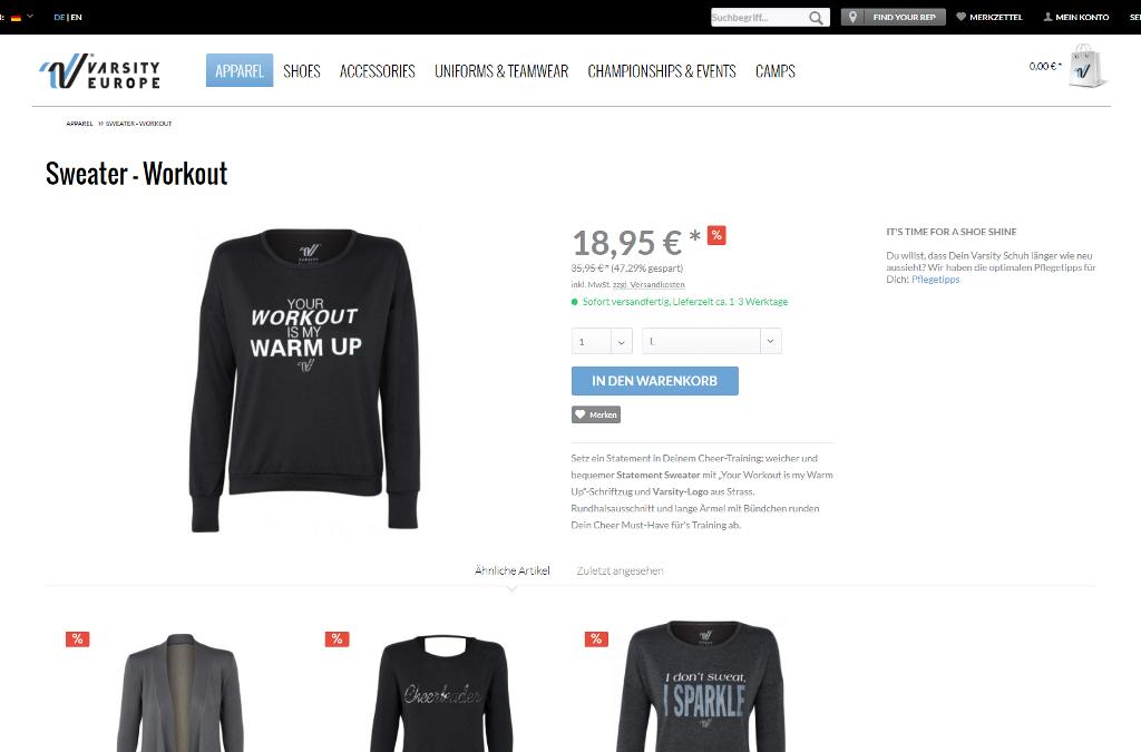 Varsity Brands Europe