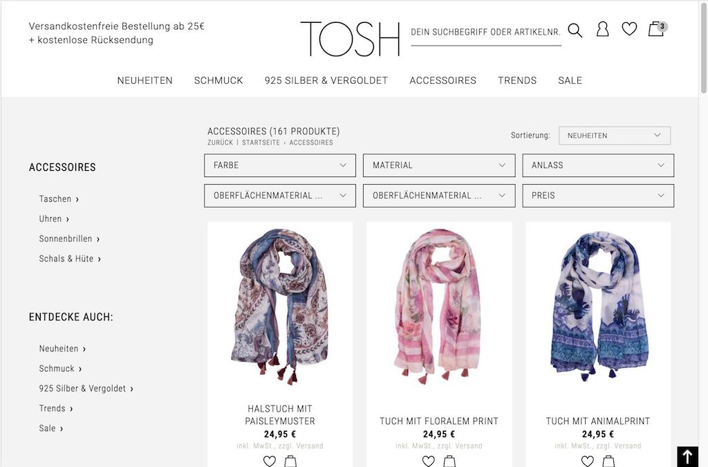 TOSH ist eine Marke der  beeline GmbH