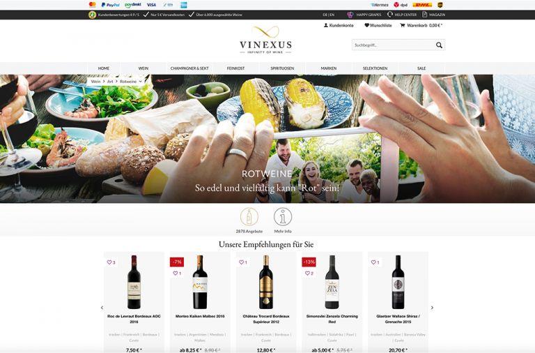 Vinexus Weinversand