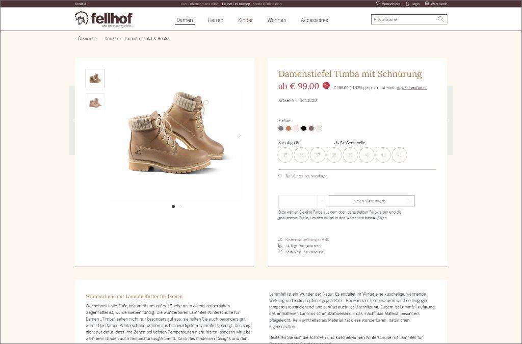Fell-Shop von Fellhof