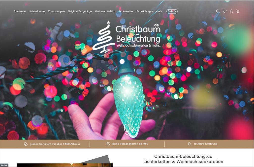 Christbaum Beleuchtung
