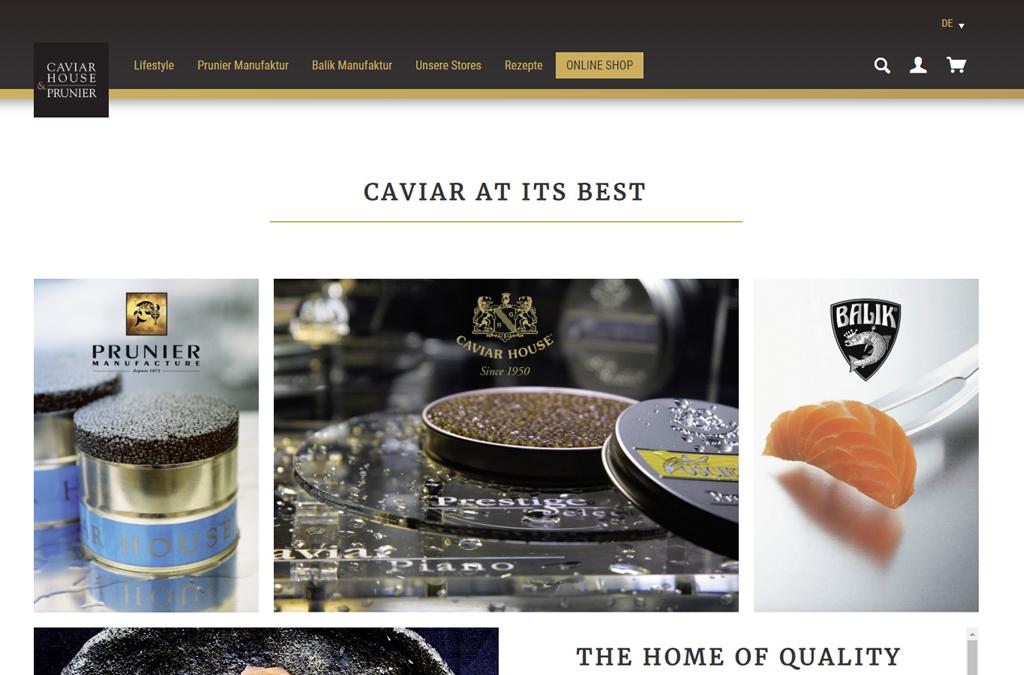 Caviar House & Prunier