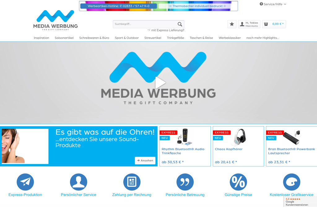 Media Werbung