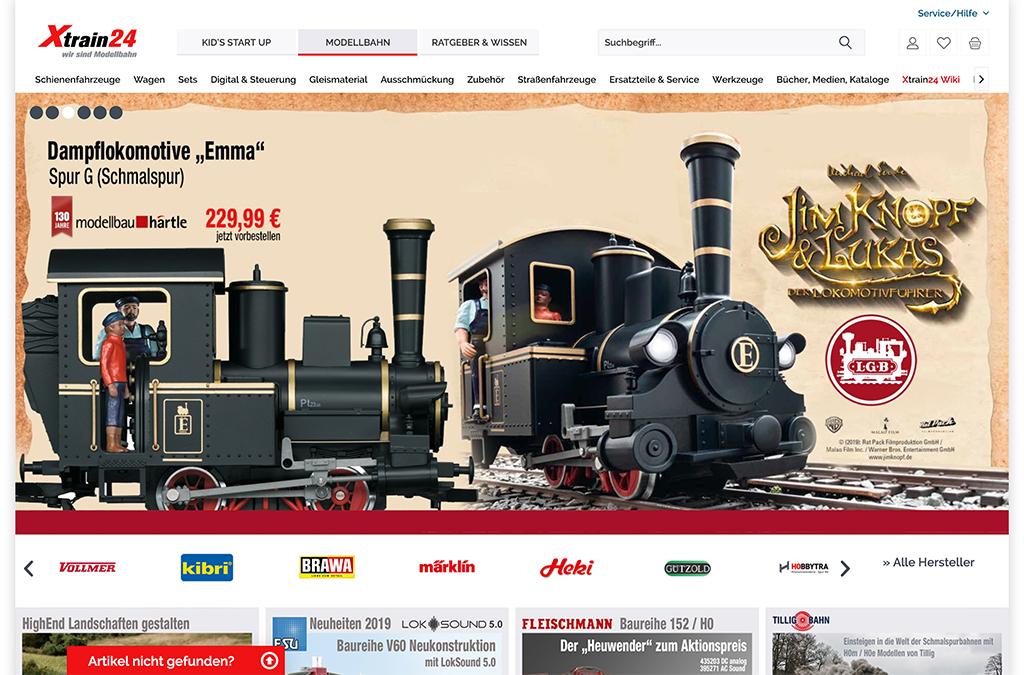 Xtrain24 wir sind Modellbahn. Marktplatz für Modelleisenbahn.