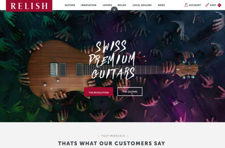 Relish Guitars Switzerland