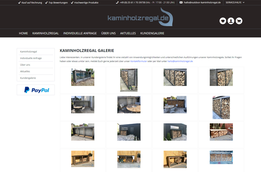 Kaminholzregal.de