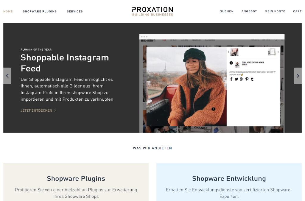 Proxation Shop