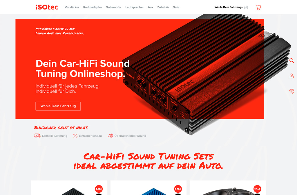 iSOtec - Dein Car-HiFi Sound Tuning Onlineshop