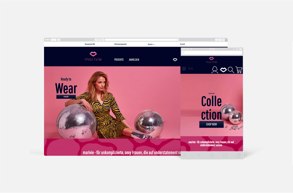 marivie - Markenshop B2C & B2B
