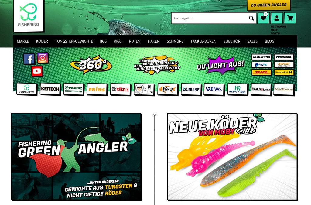 Fisherino Online-Shop