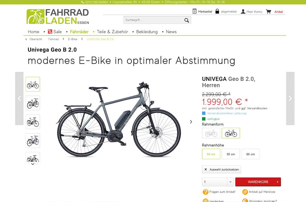 Fahrradladen Essen