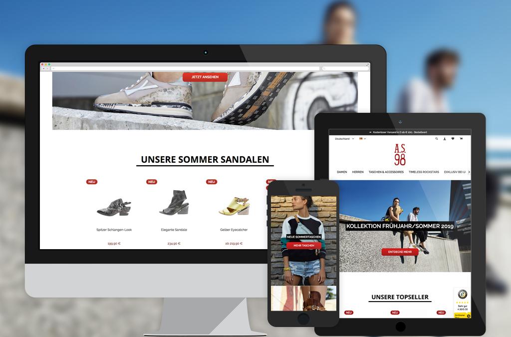 A.S.98 Offizieller Online-Shop