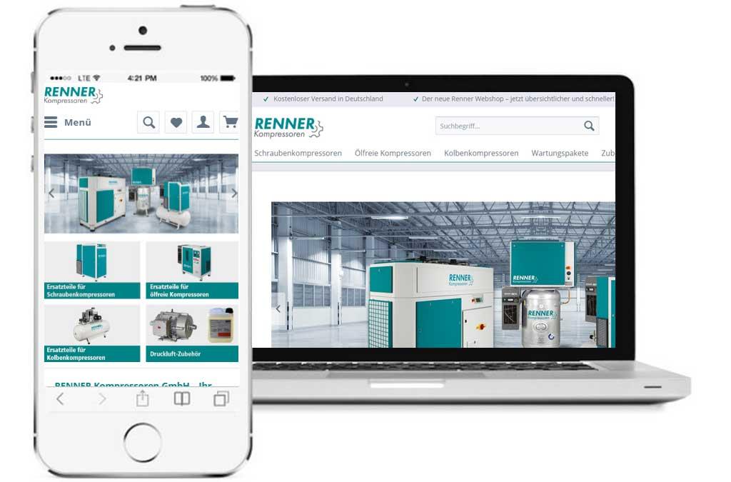 Renner Kompressoren B2B-Shop