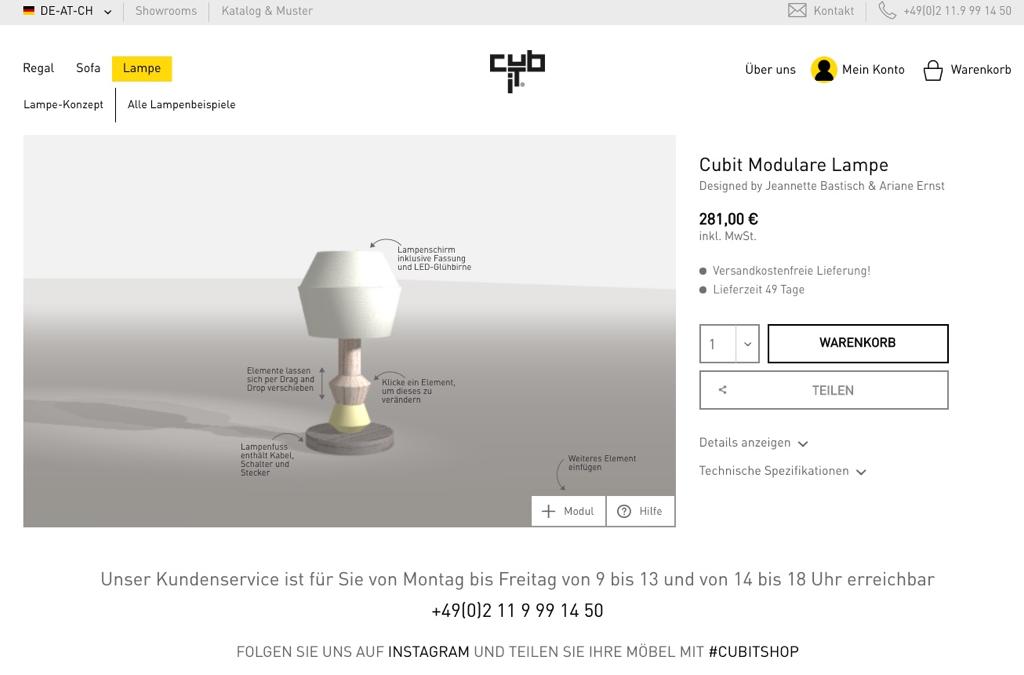 Cubit | Modulare Möbel