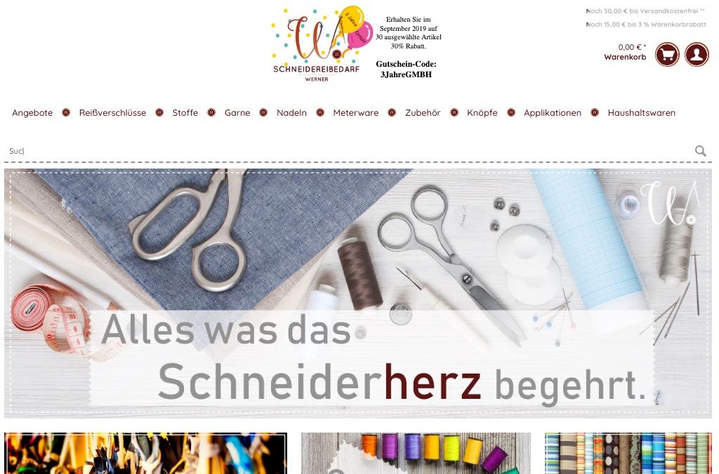Schneidereibedarf Werner