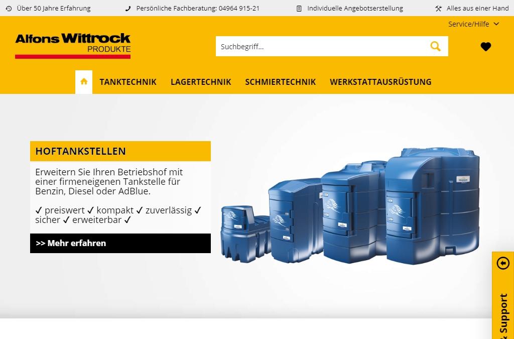 Alfons Wittrock Produkte