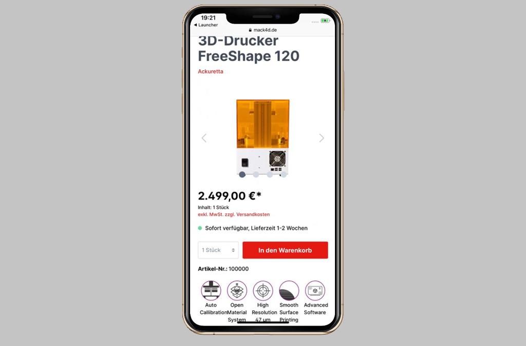 MACK4D - 3D-Drucker, Resine und Mehr!