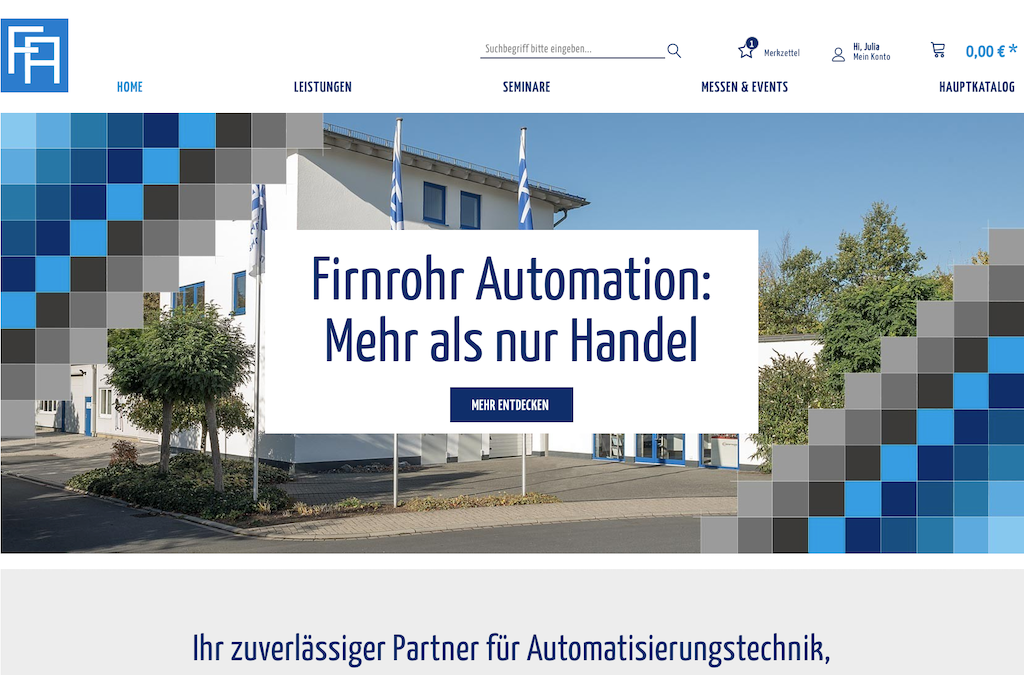 Firnrohr Automation