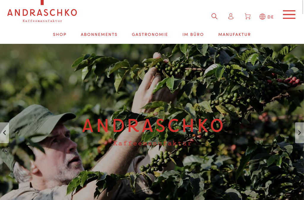 Andraschko Kaffeemanufaktur