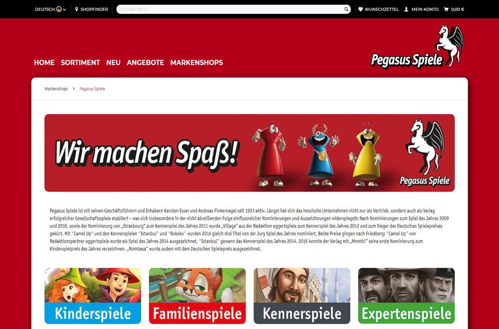 Pegasus Spiele