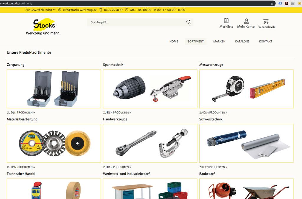 Stocks: Werkzeug und mehr...