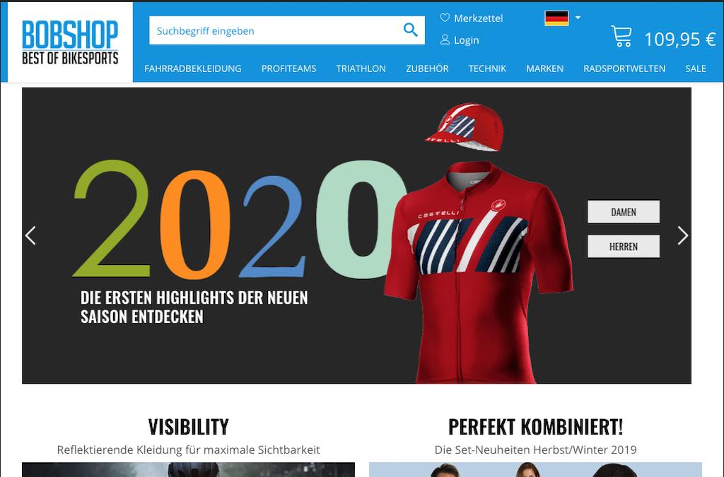BOBSHOP - Europas führender Onlineshop für Fahrradbekleidung & Radsportzubehör.