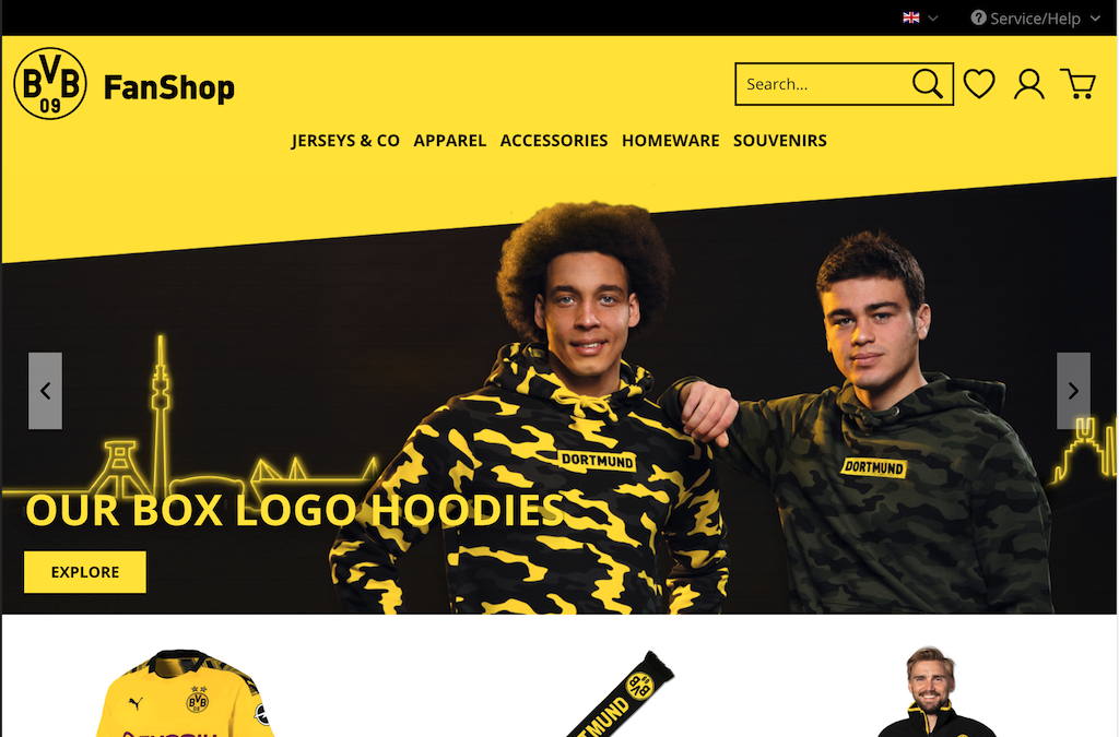 BVB - International Online Shop