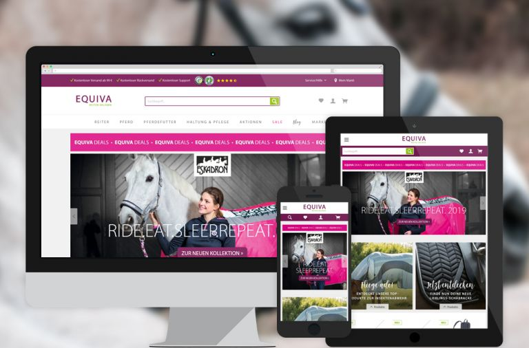 EQUIVA Online-Shop