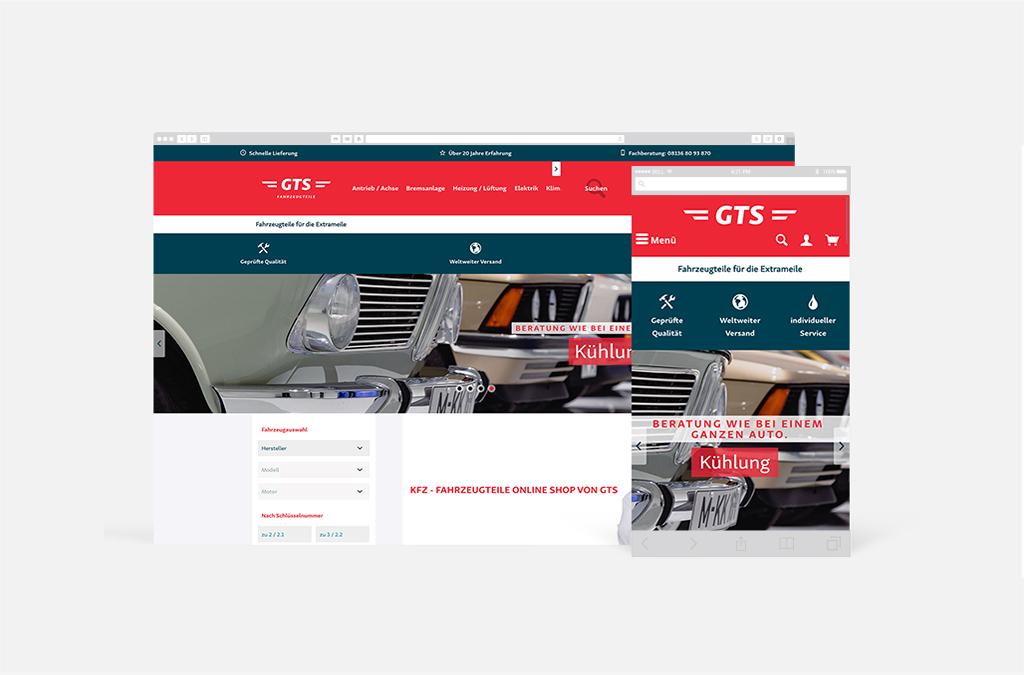 'GTS Fahrzeugteile