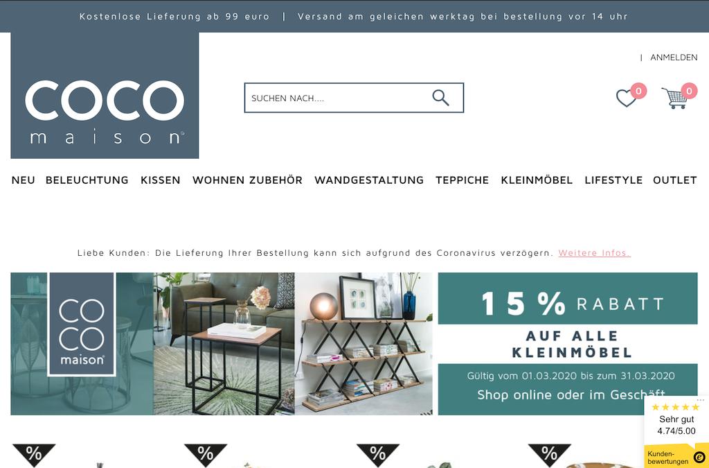 COCO maison - Wohndekoration | Woondecoratie | Décoration intérieure