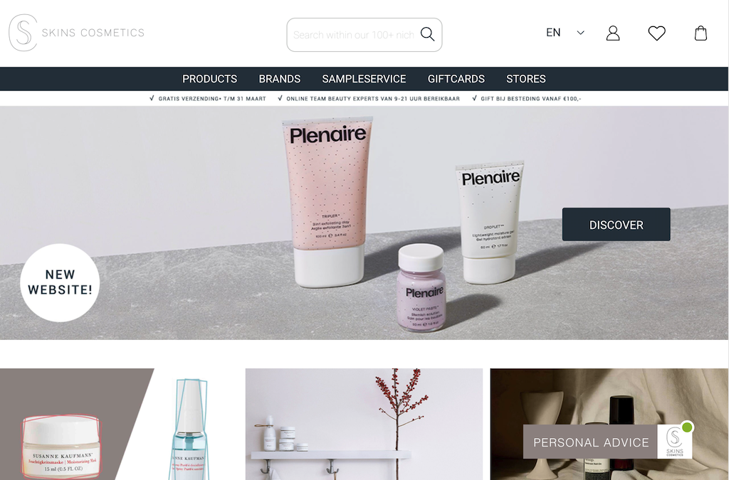 Skins Cosmetics - NL