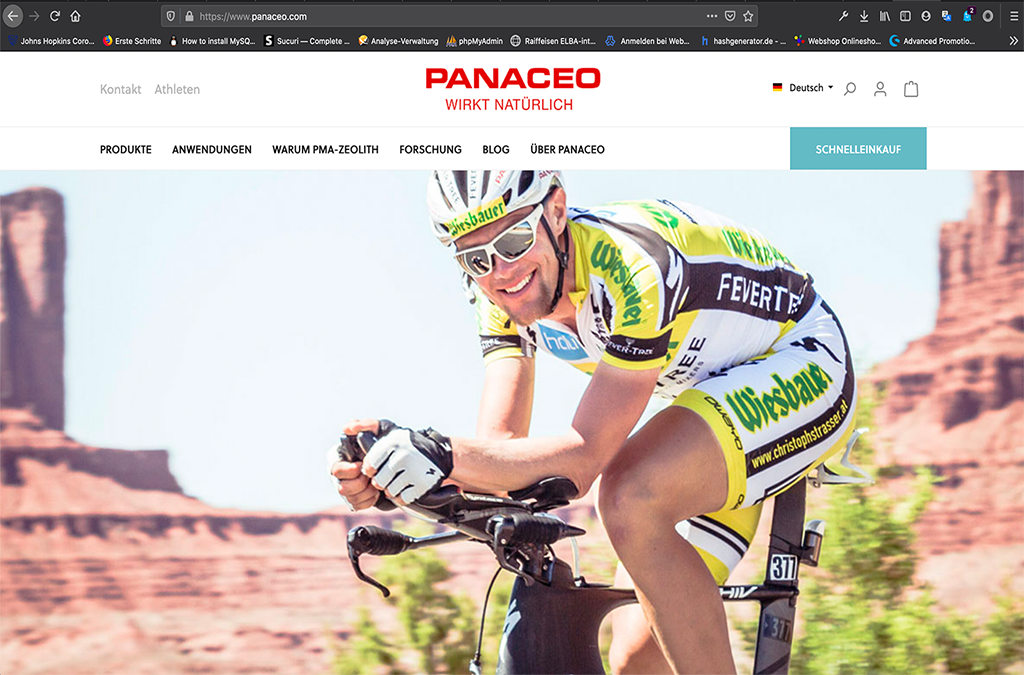 Panaceo Onlineshop