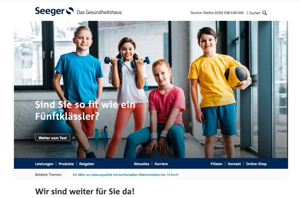 Seeger – Das Gesundheitshaus