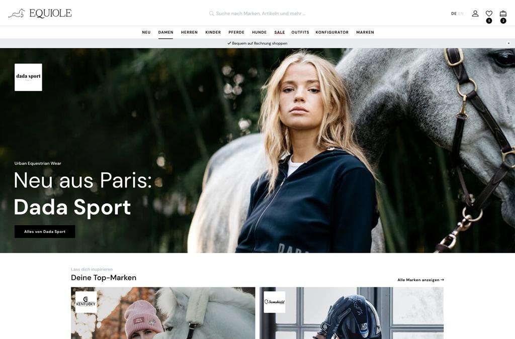 EQUIOLE – Equestrian Fashion