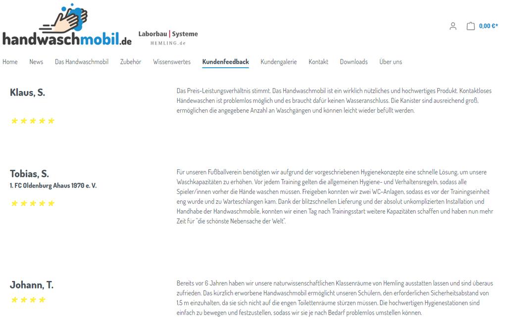 Handwaschmobil.de