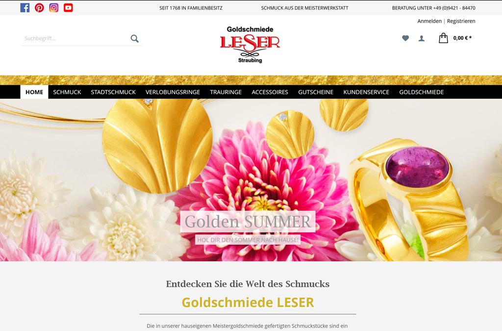 Goldschmiede LESER