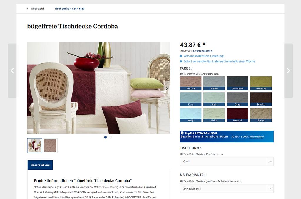 Tischdecken-Manufaktur.de