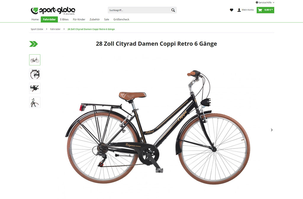 Fahrrad Onlineshop | Sport Globe