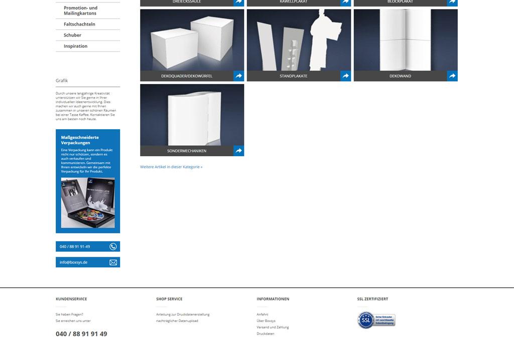 Druckshop für Verpackungsdesign
