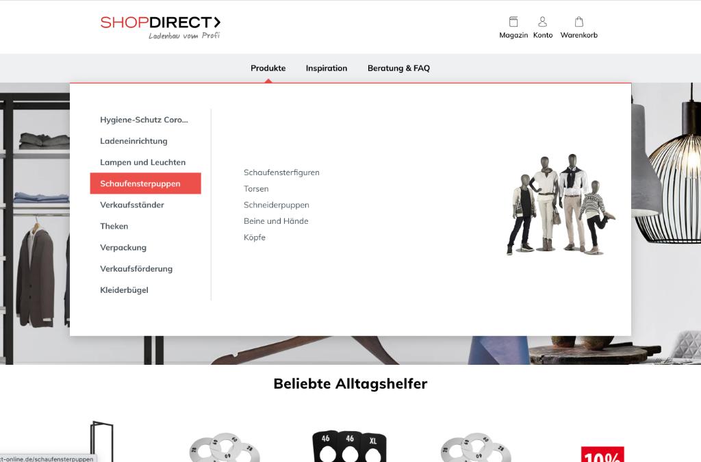 SHOPDIRECT | Ladenbau vom Profi
