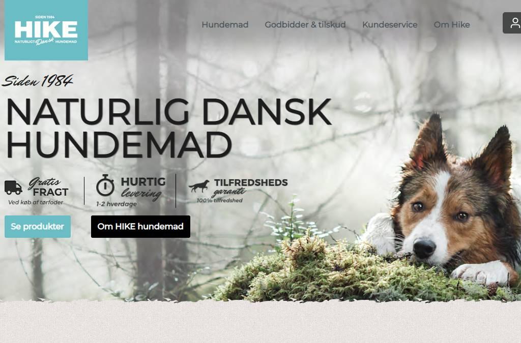 HIKE Danish premium dogfood