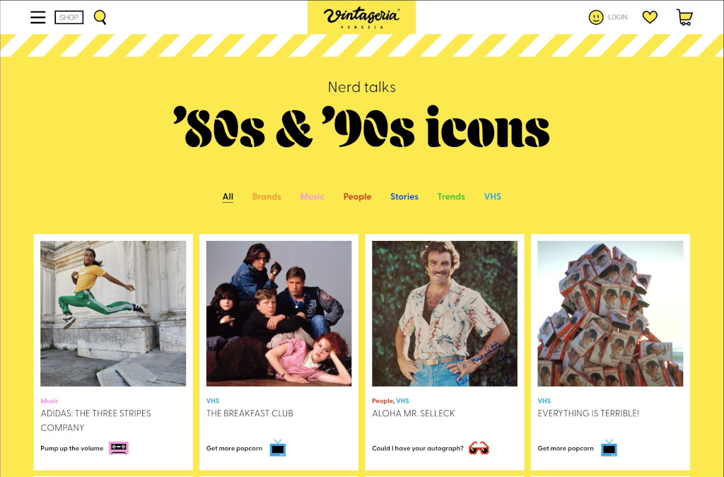 Vintageria | An inclusive, fluid & playful online vintage shop