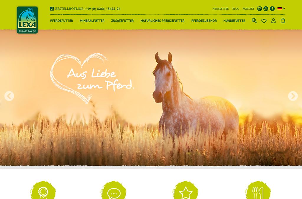 LEXA Pferdefutter - Xaver Scheule GmbH
