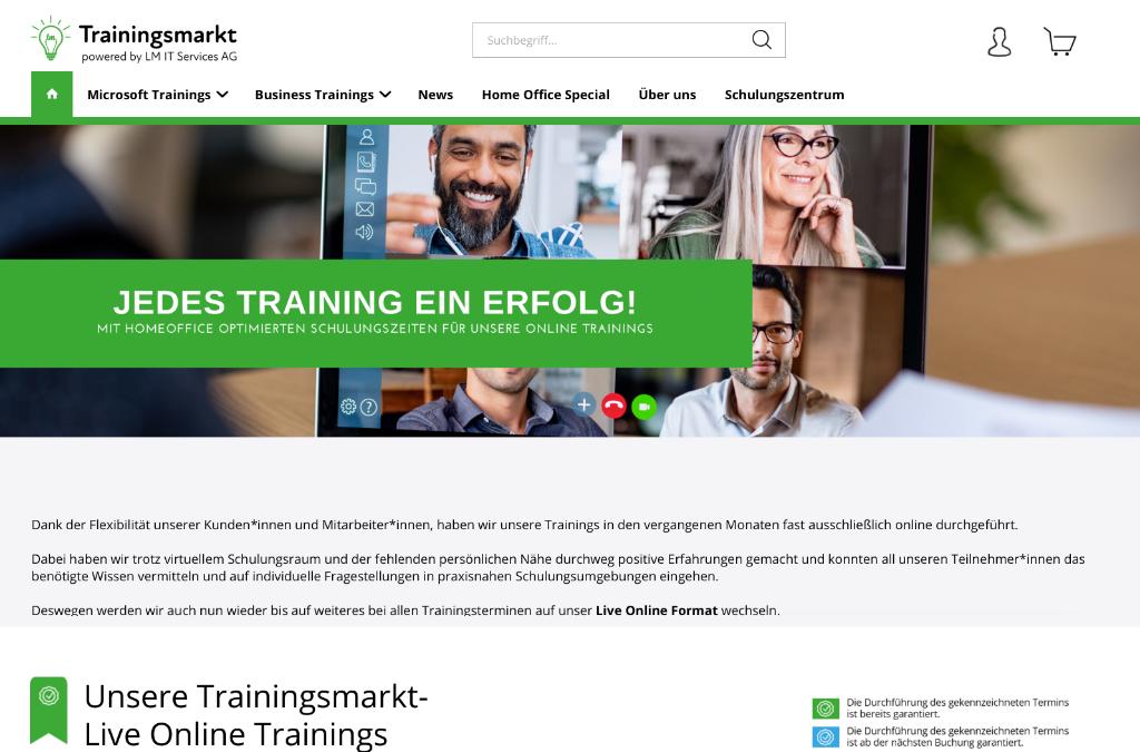 LM IT Trainingsmarkt