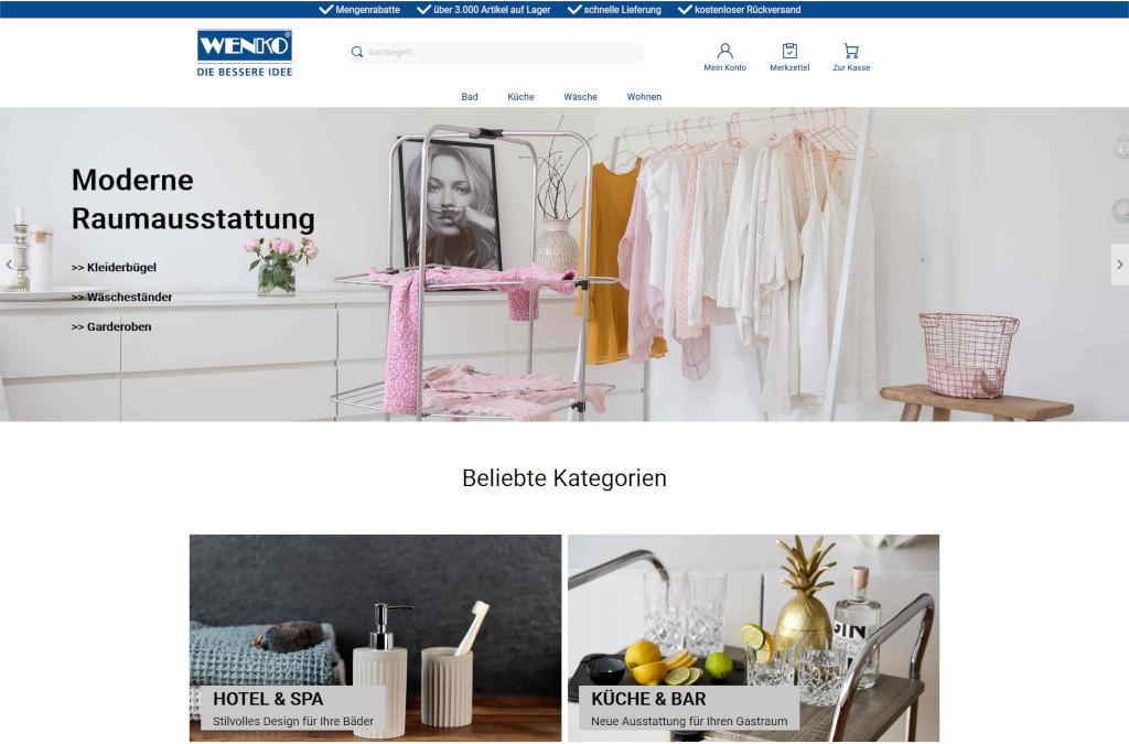 Wenko B2B Online Shop