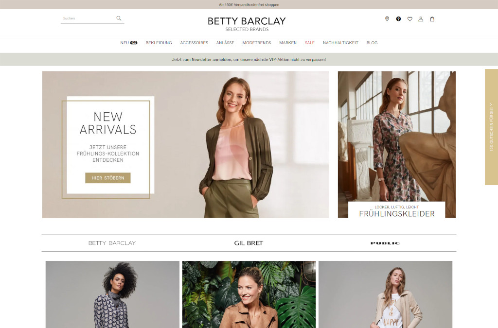 Betty Barclay Onlineshop