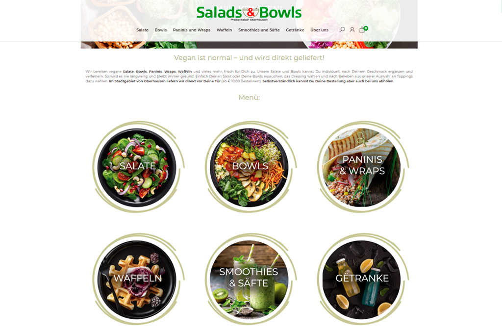 Salads & Bowls